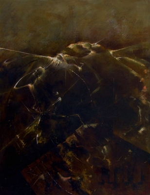 """""""Febrero"""" Oleo/tela 120x90 cms. 1998"""