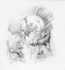 """""""Solus ipse"""" Grafito/papel 25x23.5 cm 2012"""