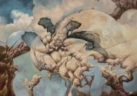 """""""Atrábilis"""" Oleo/tela 120 x 180 cms. 2010"""